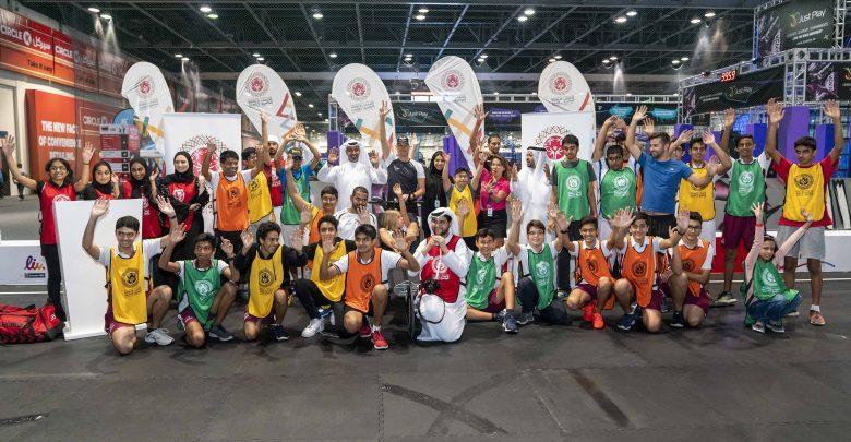 أصحاب الهمم ضمن فعاليات عالم دبي للرياضة