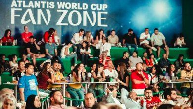 صورة مباريات كأس العالم 2018 في خيمة ورلد كاب فان زون