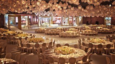 صورة باقات حفلات الزفاف من منتجع سانت ريجيس السعديات