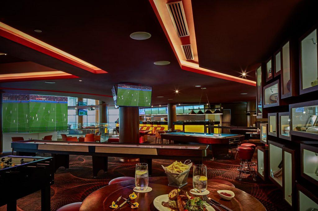 مطعم كيوب بفندق الميدان