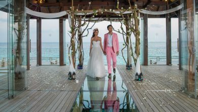 صورة منصة لحفلات الزفاف من منتجع جميرا فيتافيلي