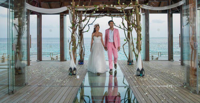 منصة لحفلات الزفاف من منتجع جميرا فيتافيلي