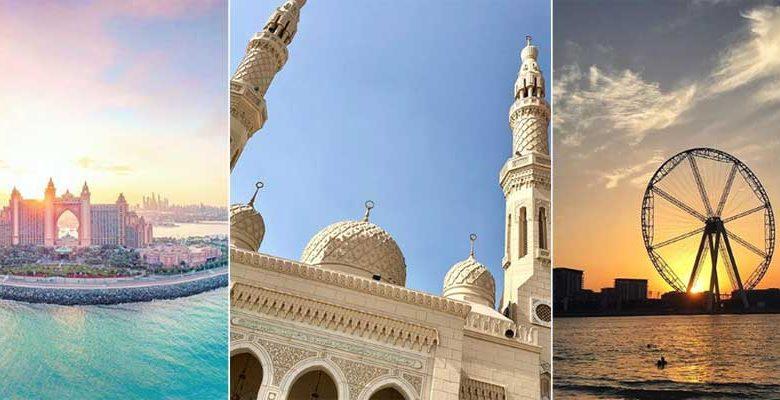 صور مذهلة لمعالم دبي السياحية