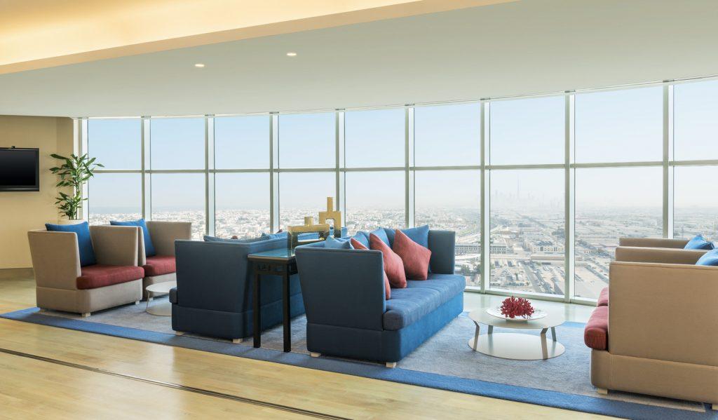 شاين سبا في فندق شيراتون دبي مول الإمارات
