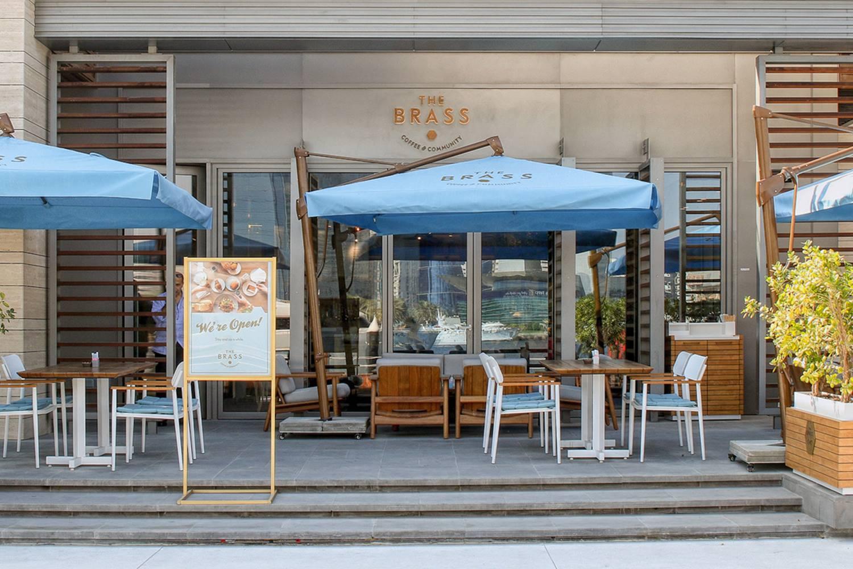 مقهى براس كافيه في دبي