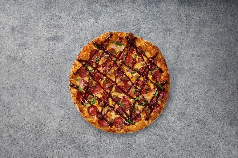 عجينة سان فرانسيسكو من بيتزا هت