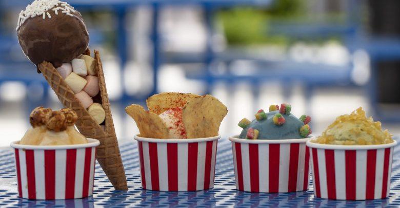 مثلجات بخمس نكهات جديدة من منتزه لاجونا المائي