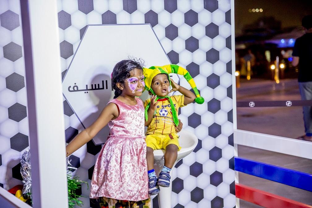 الأنشطة المسائية في وجهة السيف خلال مفاجآت صيف دبي