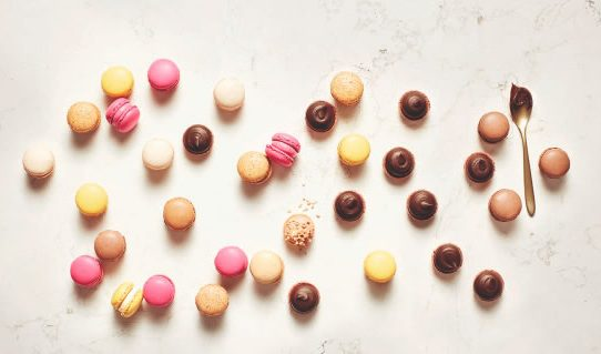 حلوى المكرون لوكسمبورغلي من سبرونغلي