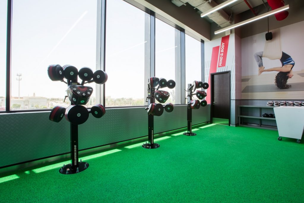 افتتاح مركز رياضي للسيدات في الشارقة من فيتنس فيرست