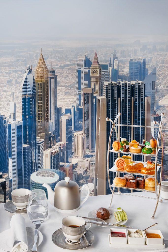 أمسيات الشاي في أتـ.موسفير برج خليفة