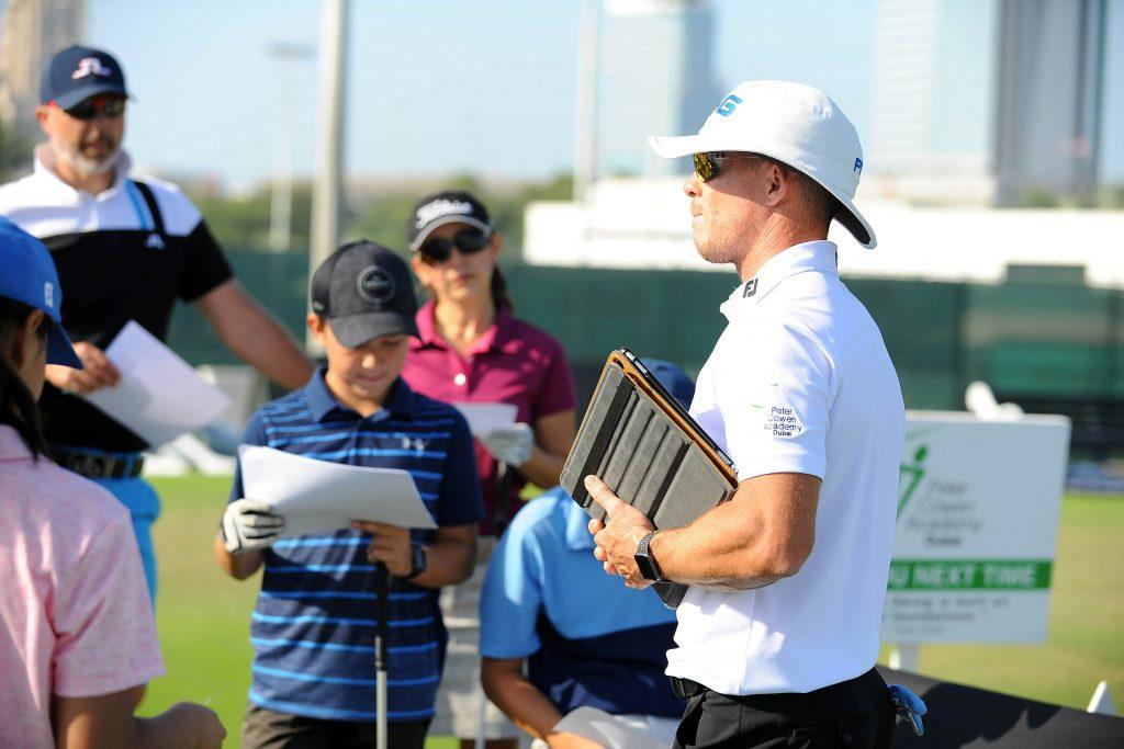 أكاديمية بيتر كوينفي نادي الإمارات للجولف