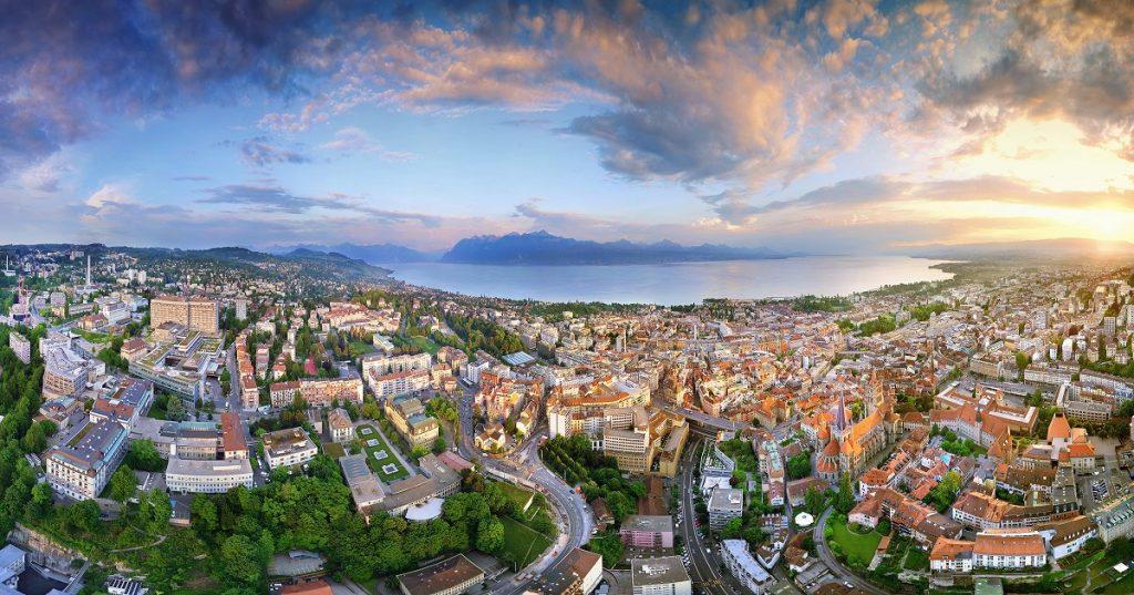 مدينة لوزان السويسرية