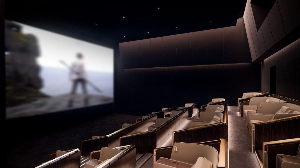 أجنحة بلاتينوم من ريل سينما في دبي مول