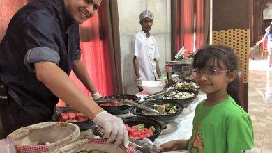 Photo of وجبات يومية في مخيم الصيف من حديقة الإمارات للحيوانات