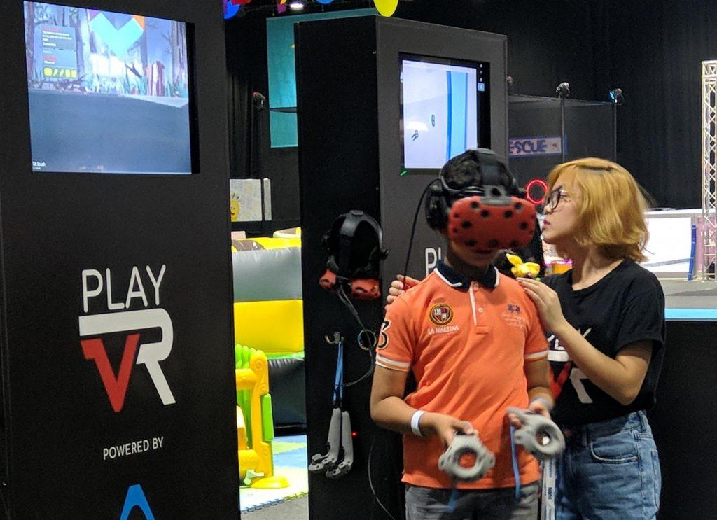 مغامرات الواقع الافتراضي في عالم مدهش 2018