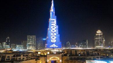 Photo of نتائج مباريات كأس العالم على أعلى واجهة LED في العالم