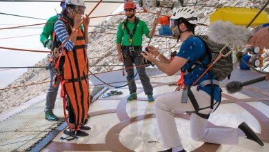 Photo of أول طلب للزواج على أطول مسار انزلاقي في العالم