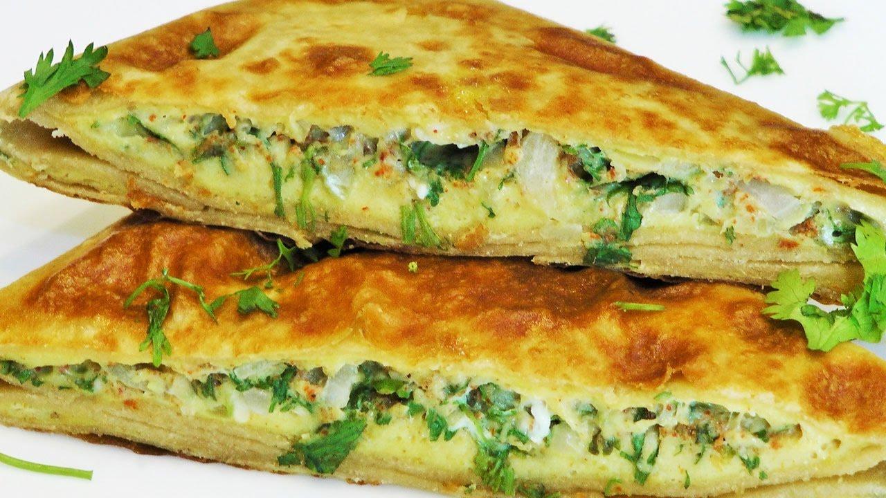 بيض Egg Paratha