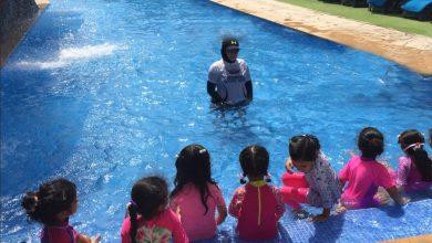 صورة دورات سباحة للأطفال من منتجع وحديقة الإمارات للحيوانات
