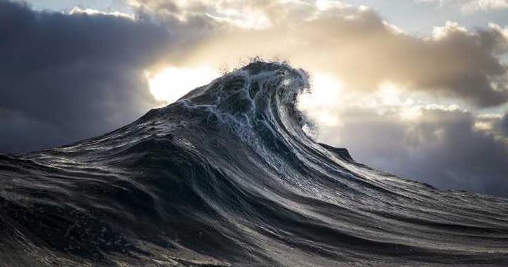 أمواج عمودية