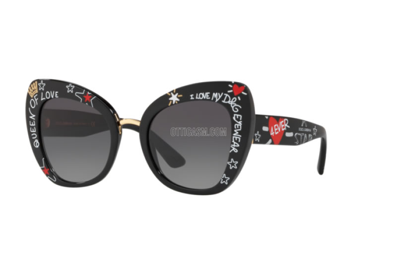 نظارات DGGraffiti النسائية من Dolce&Gabbana