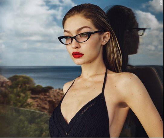 نظارات Vogue Eyewear بالتعاون مع جيجي حديد