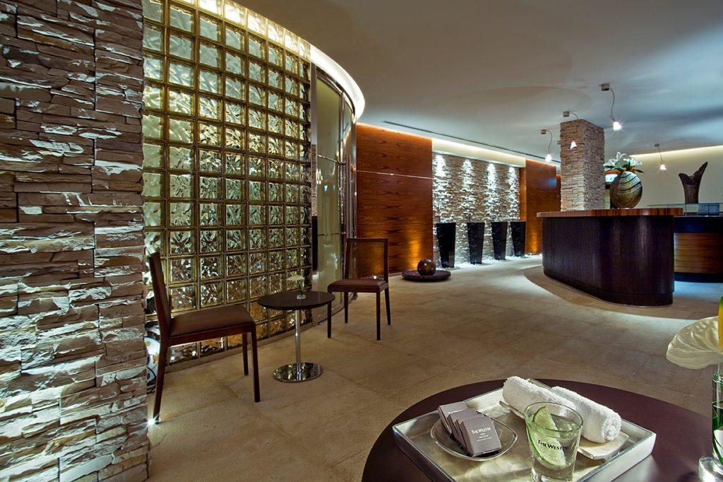 هيفينلي سبا في فندق ويستن دبي الميناء السياحي