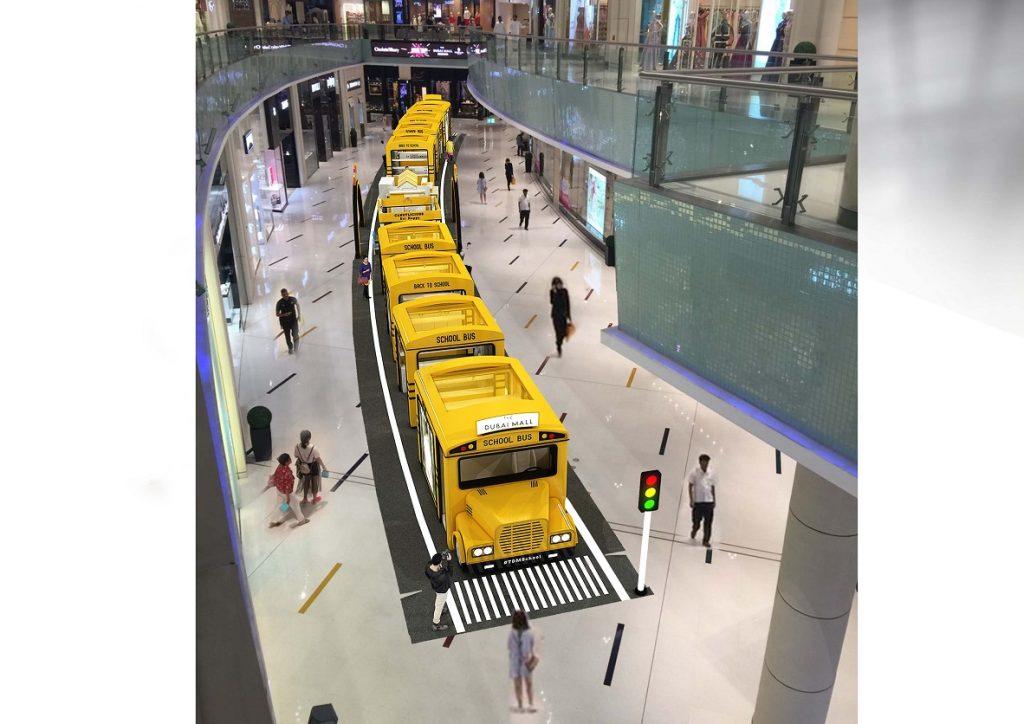 موسم العودة إلى المدارس في دبي مول