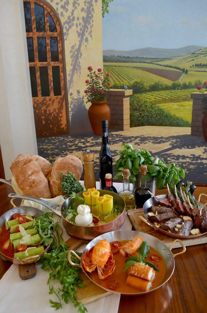 مهرجان كانيلوني الإيطالي في مطعم فيلا توسكانا