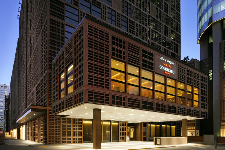 فندق كورت يارد ماريوت المركز التجاري العالمي أبوظبي