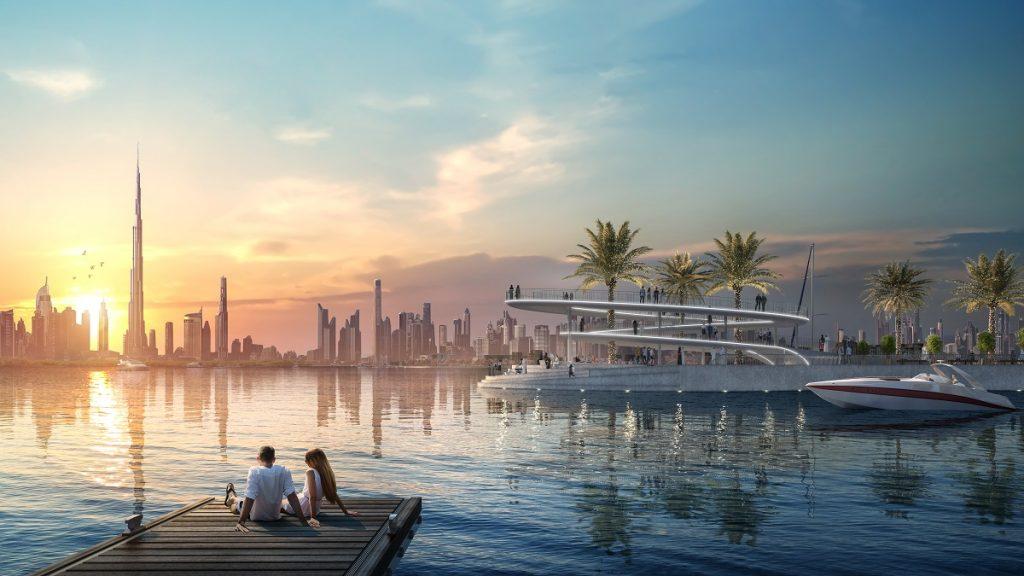 مرسى كريك مارينا في قلب خور دبي