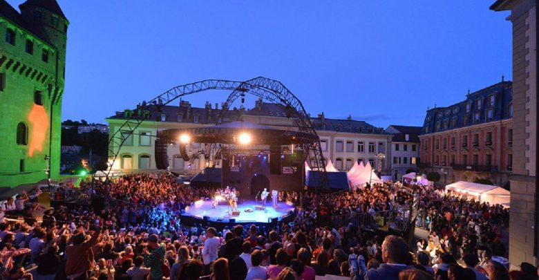 المهرجانات الموسيقية والترفيهية في لوزان السويسرية