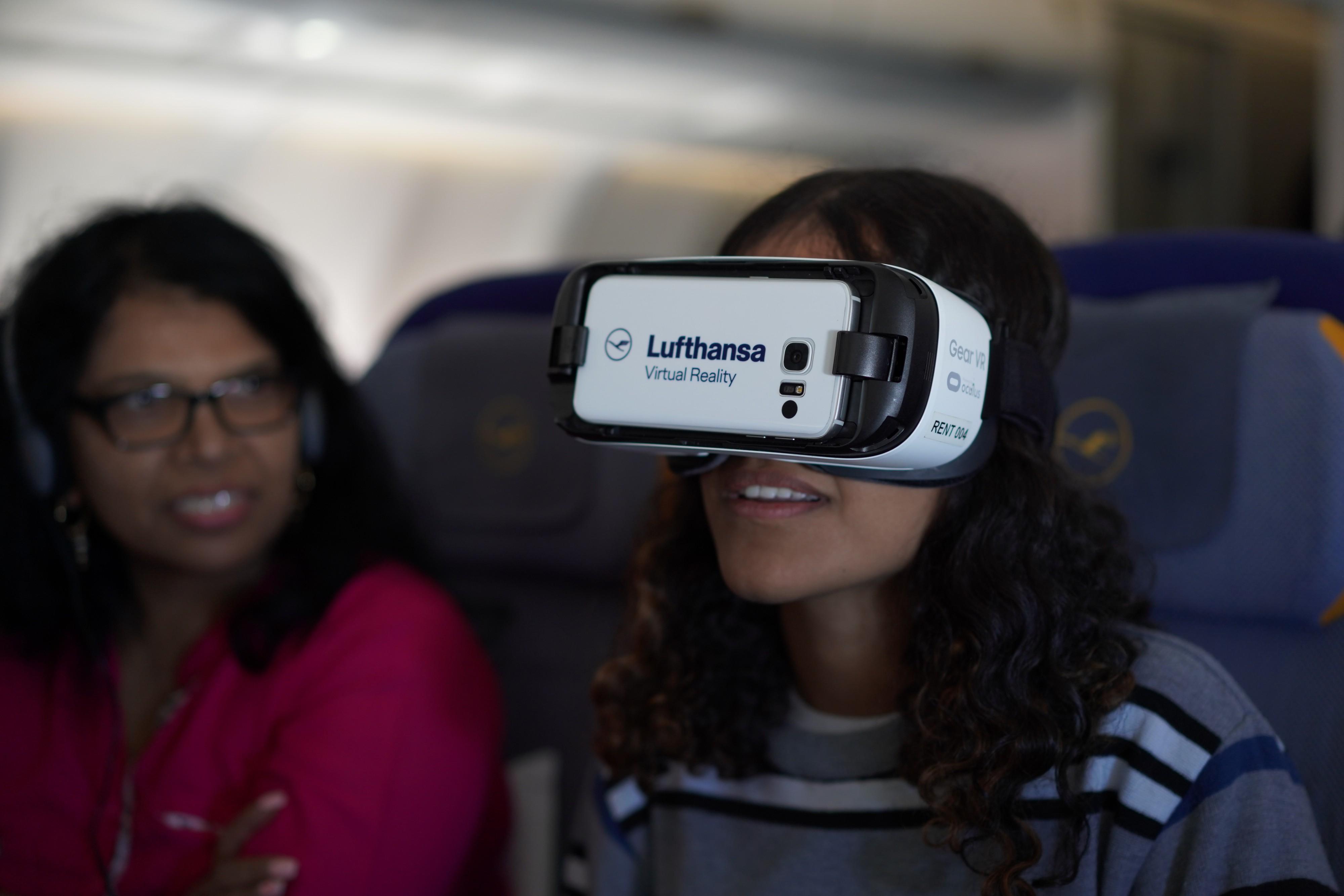 تجربة الواقع الافتراضي من لوفتهانزا
