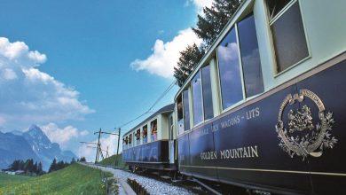 صورة قطار الشوكولا غولدن باس في لوزان