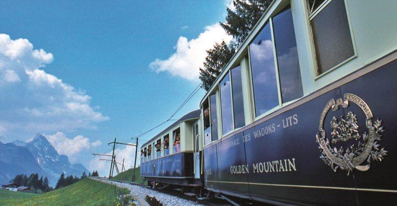 قطار الشوكولا غولدن باس في لوزان