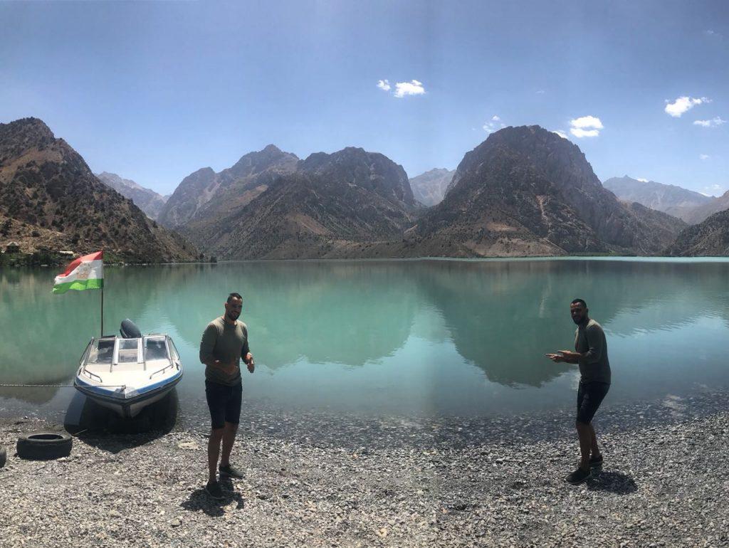 بحيرة اسكندر كول طاجيكستان