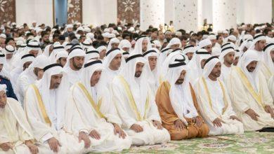 صورة المصليات المعتمدة لصلاة عيد الأضحى المبارك في دبي