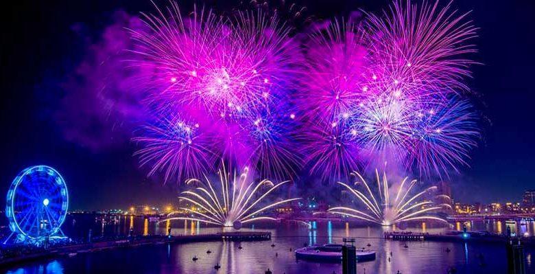 وجهات مميزة لمشاهدة الألعاب النارية في دبي خلال عيد الأضحى