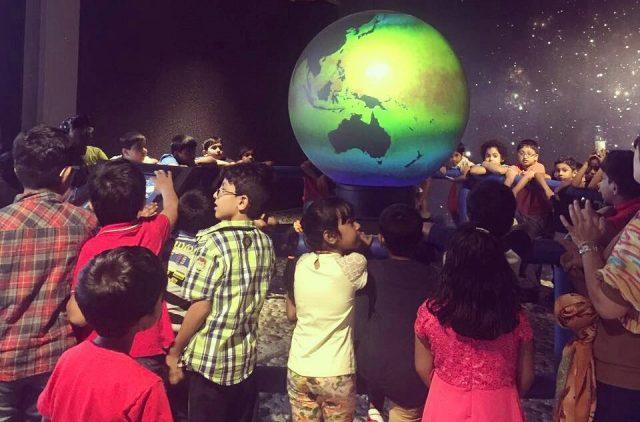 مدينة الأطفال بمنتزه خور دبي