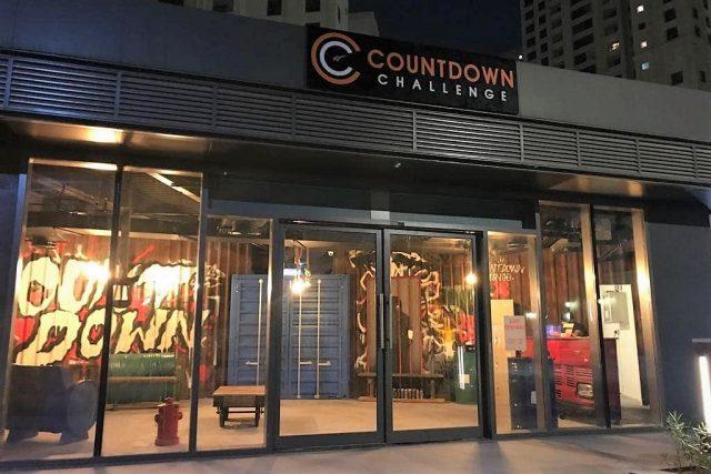 غرفة الهروب في Countdown Challenge