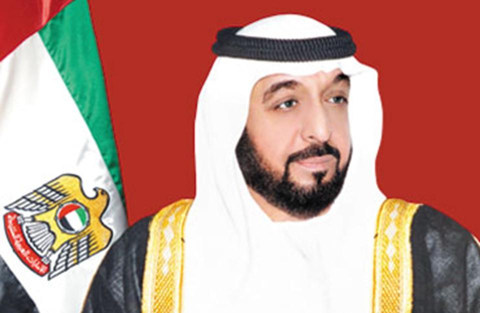 لسمو الشيخ خليفة بن زايد آل نهيان رئيس الدولة حفظه الله