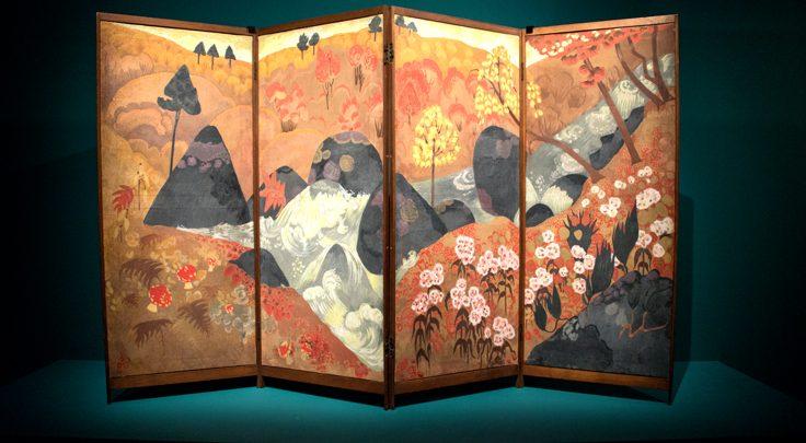 معرض من وحي اليابان في متحف اللوفر أبوظبي