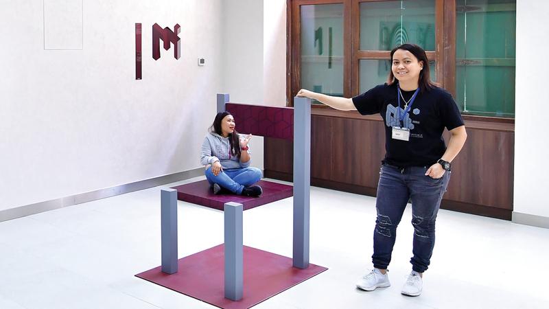 متحف الغموض في دبي