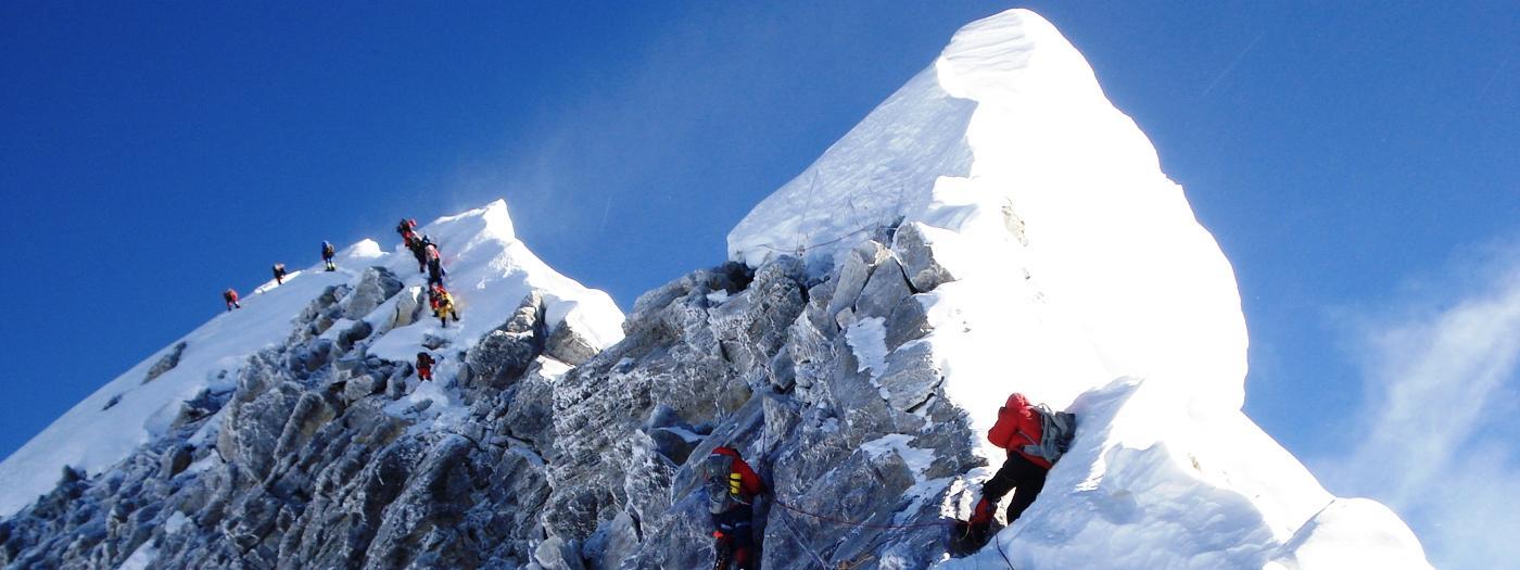 جبل افرست ، جانب نيبال