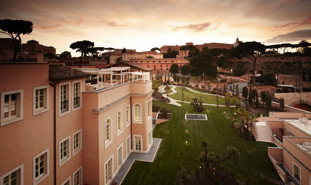 فندق غران ميليا روما