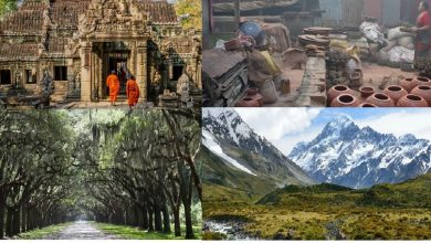 مواقع تصوير أفلام سينمائية أصبحت مواقع سياحية مشهورة