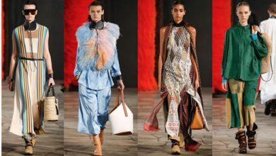 Photo of مجموعة الملابس النسائية الجديدة لعلامة LOEWE