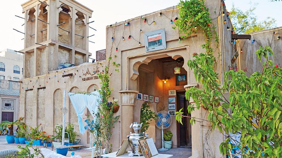 مقهى ميك آرت كافيه في حي الفهيدي التاريخي