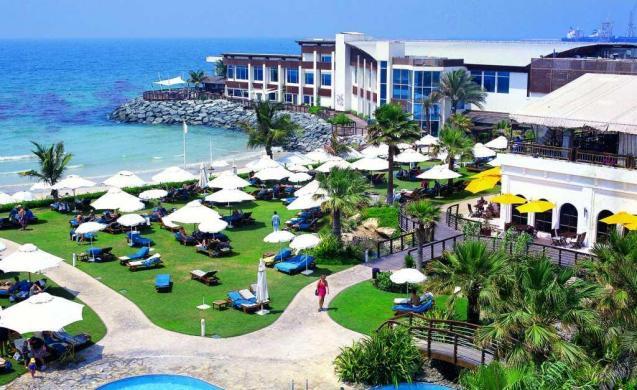 شو تشو في منتجع شاطئ دبي مارين